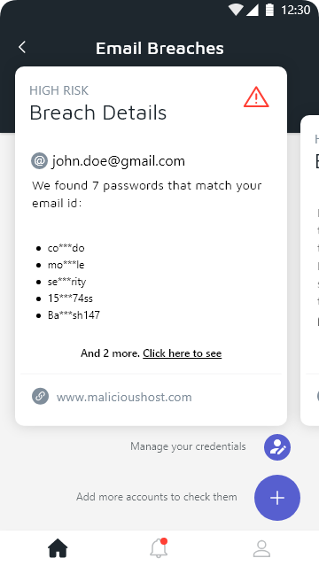 Email Breaches